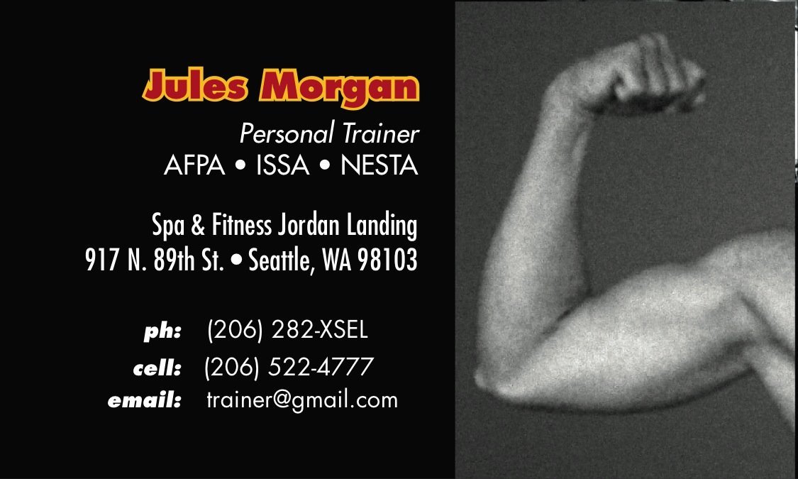 Up close and toned personal trainer business card a printer for bicep on black card home personal trainer business cards colourmoves