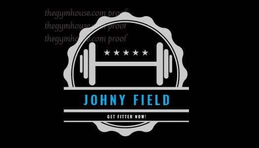 Fitness business cards 1 a printer for gyms and personal trainers home personal trainer business cards colourmoves