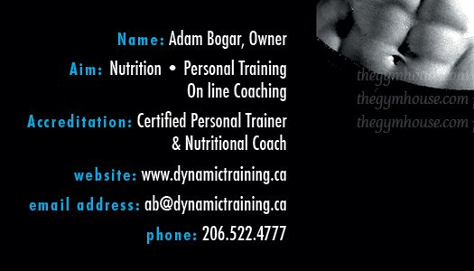 fitness business cards 6 a printer for gyms and personal trainers