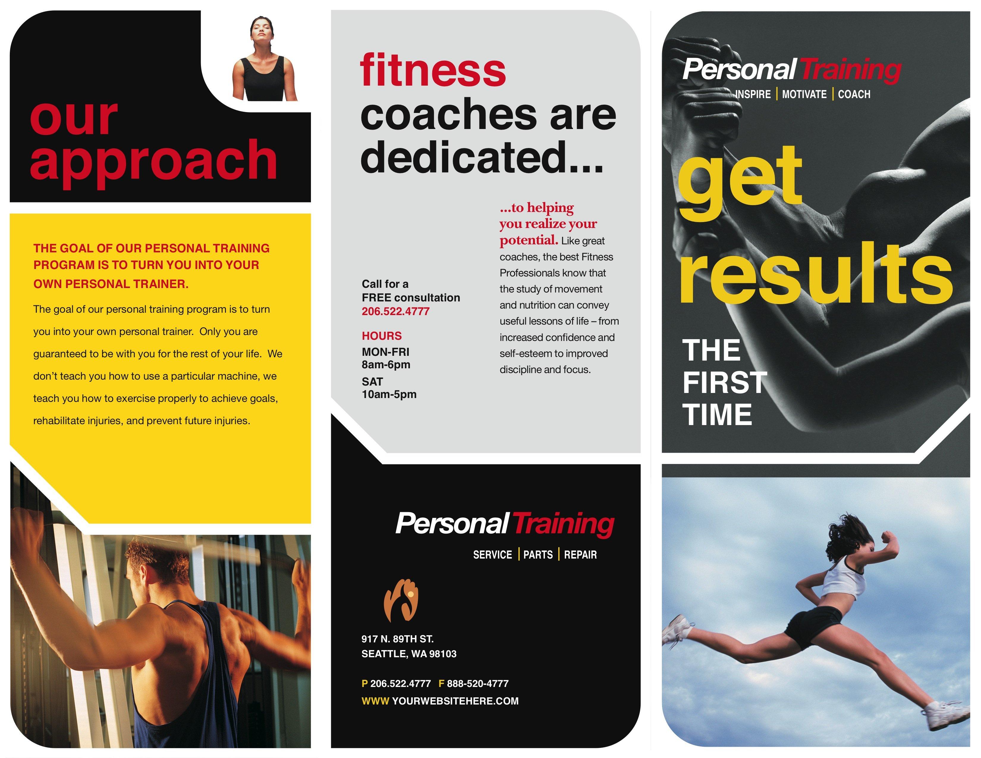 Personal trainer intensity brochure a printer for gyms and personal trainer intensity brochure a printer for gyms and personal trainers colourmoves