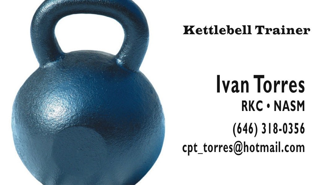 Kettlebells H2 A Printer For Gyms And Personal Trainers
