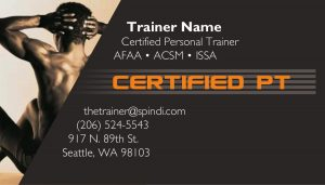 Personal trainer business cards a printer for gyms and personal body series colourmoves