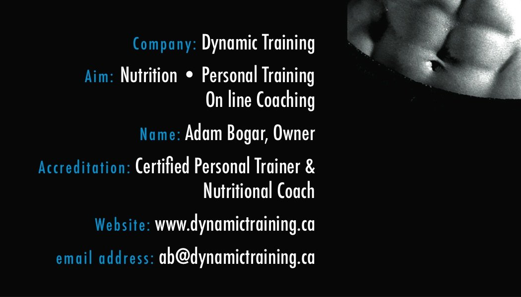 custom type personal trainer business cards 3 a printer for gyms