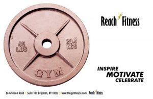 bronze weight plate