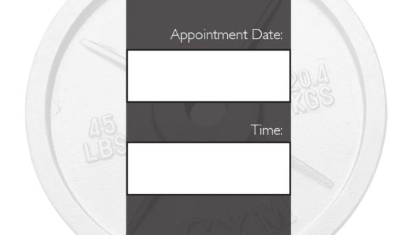 business card back appointment 19