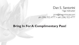 business card back appointment 36